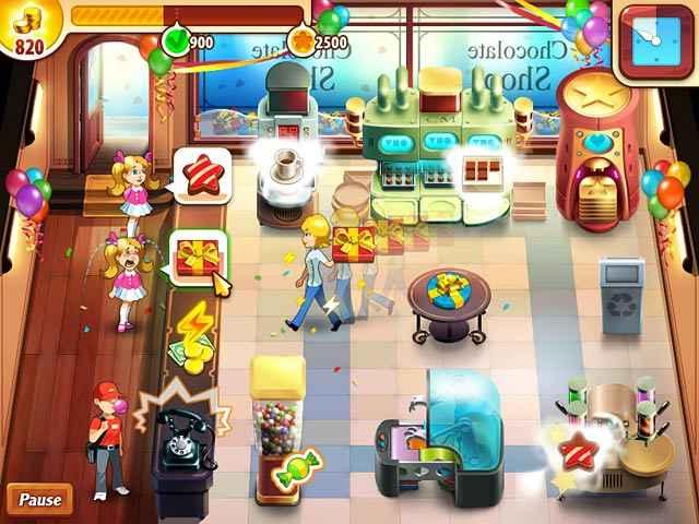 chocolate shop frenzy screenshots 1
