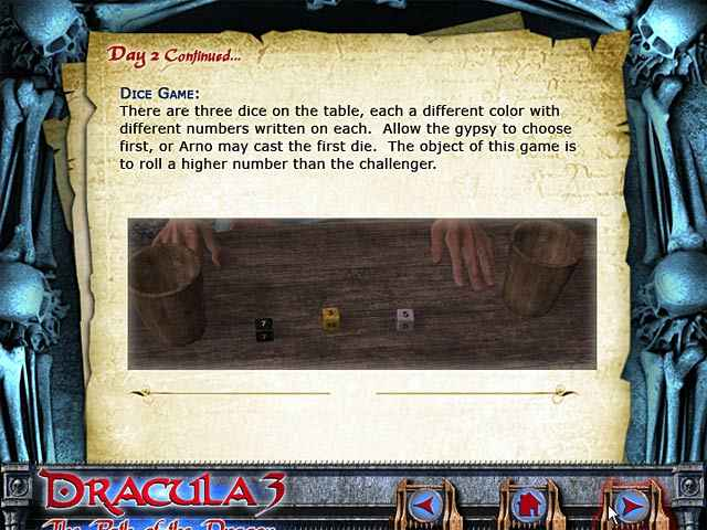 dracula 3: the path of the dragon strategy guide screenshots 1