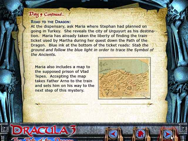 dracula 3: the path of the dragon strategy guide screenshots 3