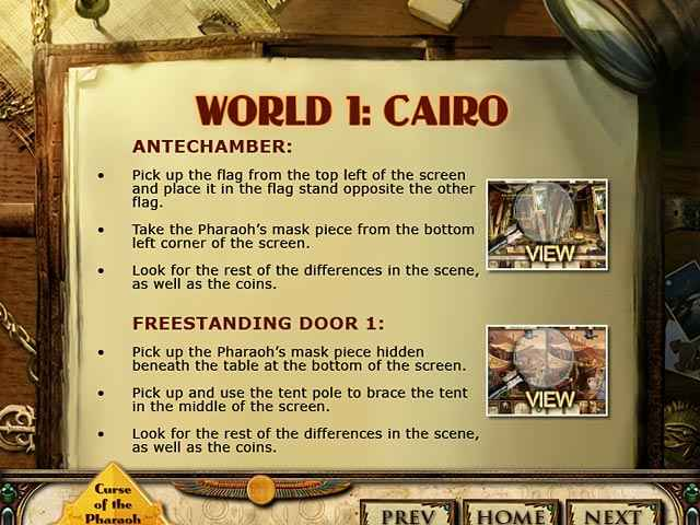 curse of the pharaoh: napoleon's secret strategy guide screenshots 1