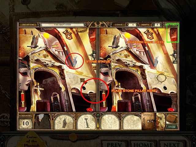 curse of the pharaoh: napoleon's secret strategy guide screenshots 2