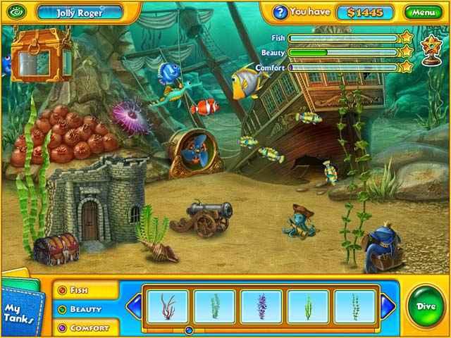 fishdom h2o: hidden odyssey screenshots 1
