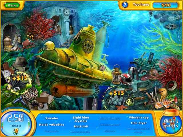 fishdom h2o: hidden odyssey screenshots 2