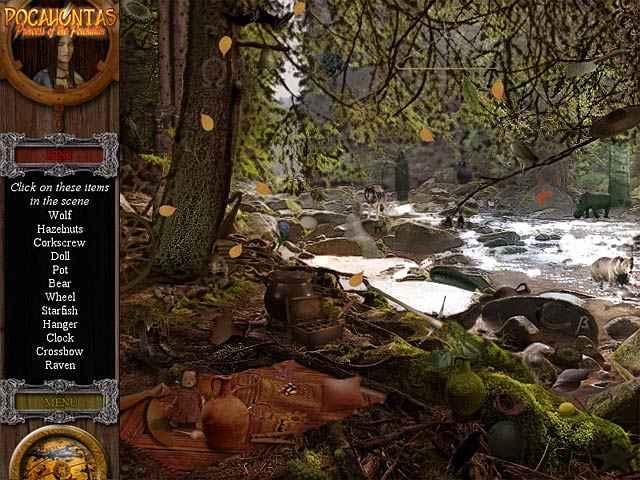 pocahontas: princess of the powhatan screenshots 2