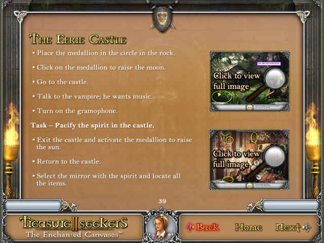 treasure seekers: the enchanted canvases strategy guide screenshots 3