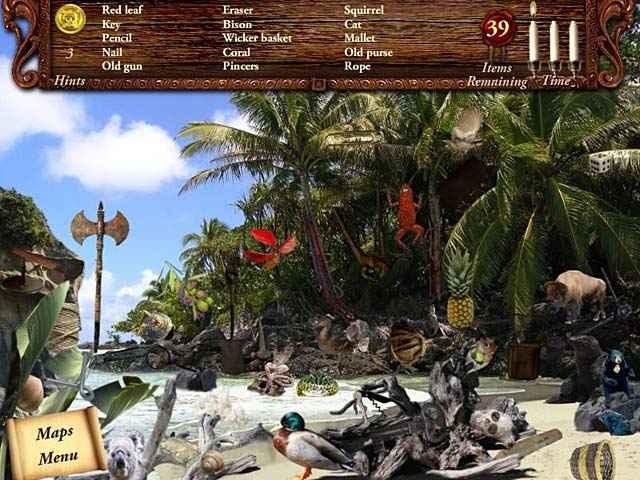 lost secrets: caribbean explorer secrets of the sea screenshots 1