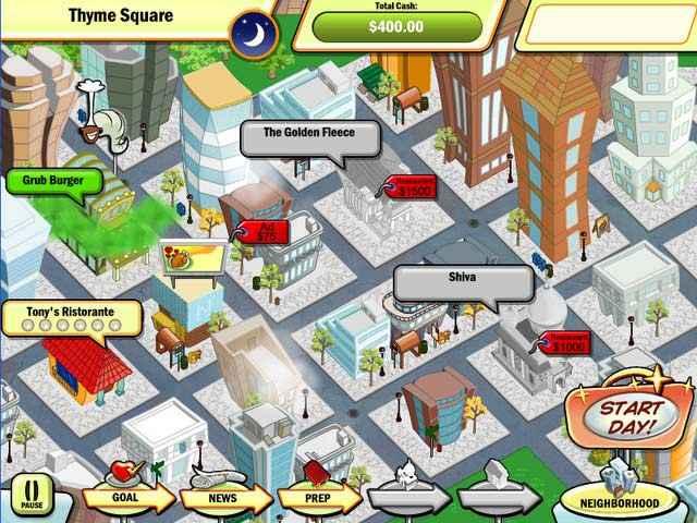 dinertown tycoon screenshots 1