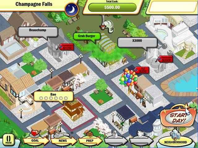 dinertown tycoon screenshots 2