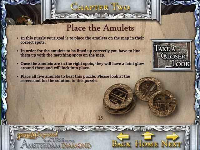 youda legend: the curse of the amsterdam diamond strategy guide screenshots 1
