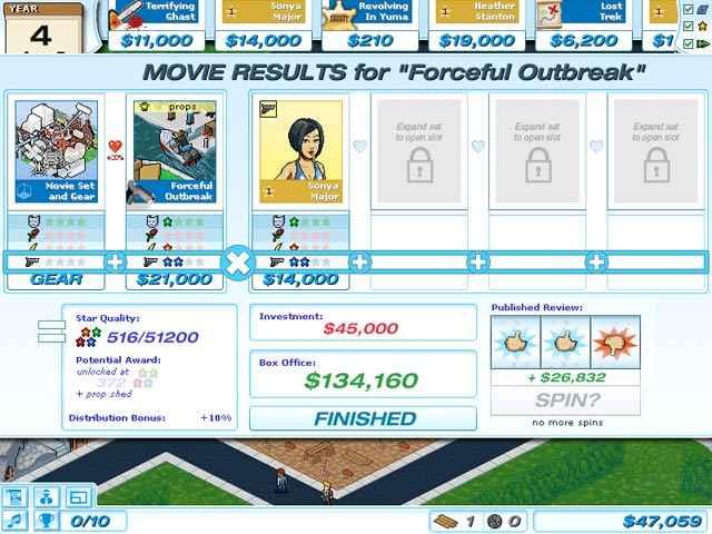 hollywood tycoon screenshots 3