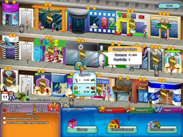 create-a-mall screenshots 1