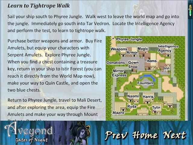 aveyond: gates of night strategy guide screenshots 1