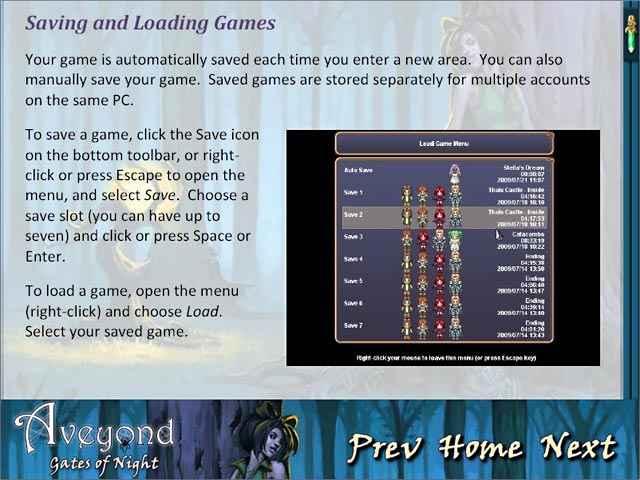 aveyond: gates of night strategy guide screenshots 2