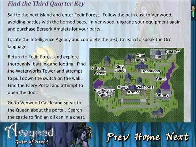 aveyond: gates of night strategy guide screenshots 3