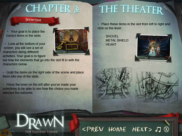 drawn: the painted tower deluxe strategy guide screenshots 1