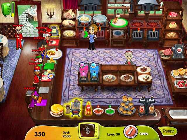 cooking dash: dinertown studios screenshots 1