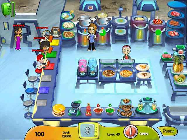 cooking dash: dinertown studios screenshots 2