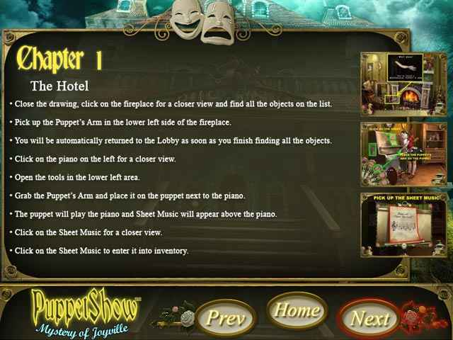 puppetshow: mystery of joyville strategy guide screenshots 1