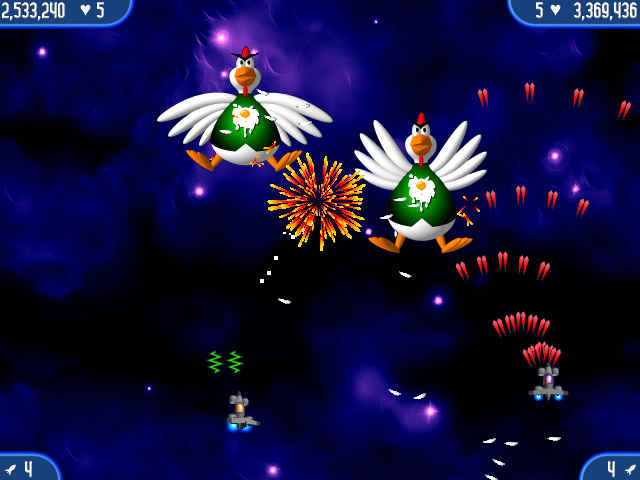 chicken invaders 2 screenshots 1