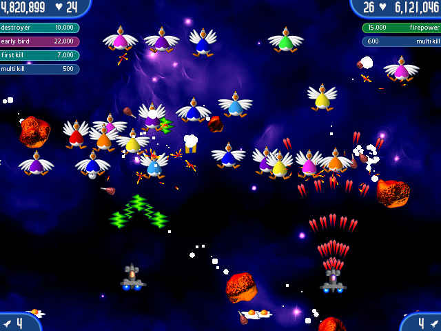 chicken invaders 2 screenshots 2