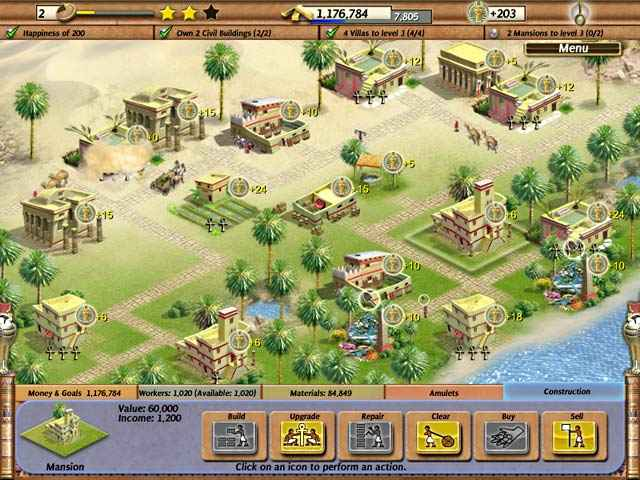 empire builder - ancient egypt screenshots 3