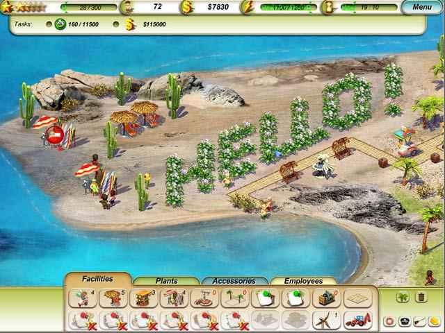 paradise beach screenshots 1