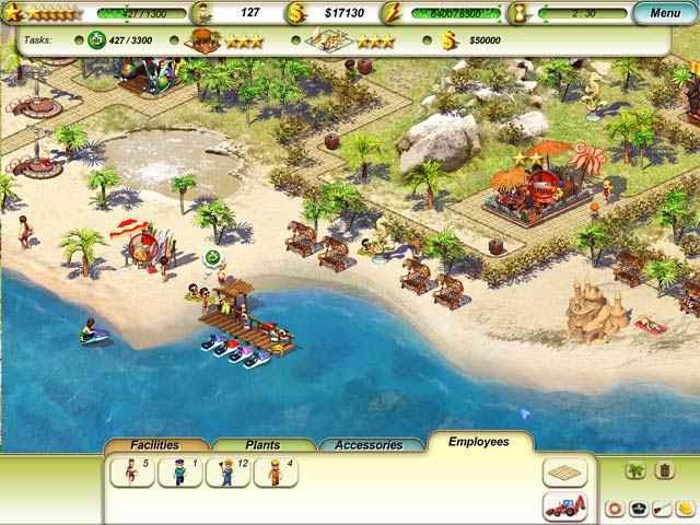 paradise beach screenshots 2