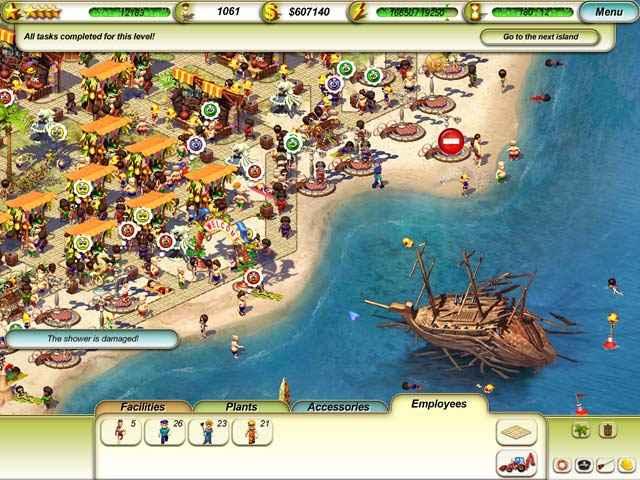 paradise beach screenshots 3