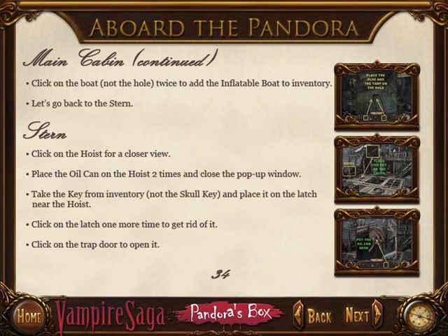 vampire saga: pandora's box strategy guide screenshots 1