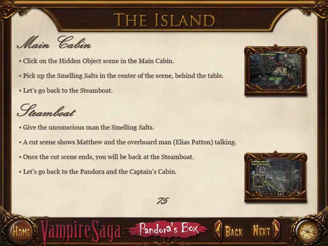vampire saga: pandora's box strategy guide screenshots 3