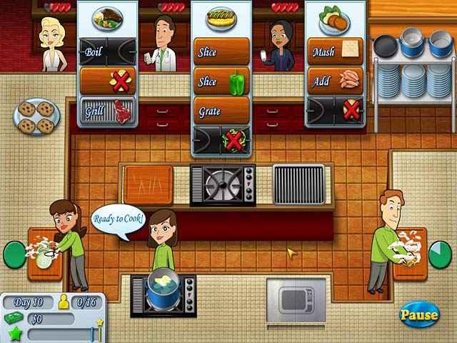kitchen brigade screenshots 1