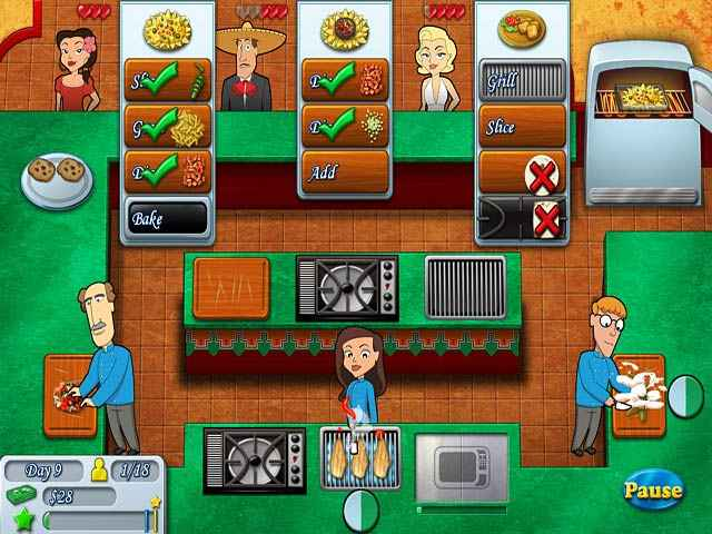 Kitchen Brigade game Distributed at Download Game Demo