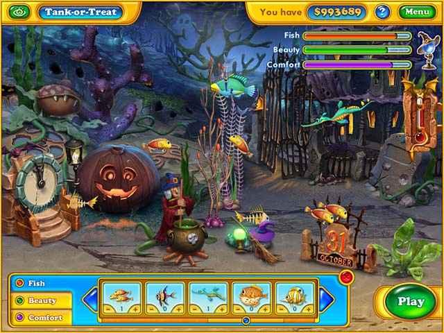 fishdom - spooky splash screenshots 2