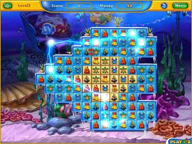 fishdom: frosty splash screenshots 1