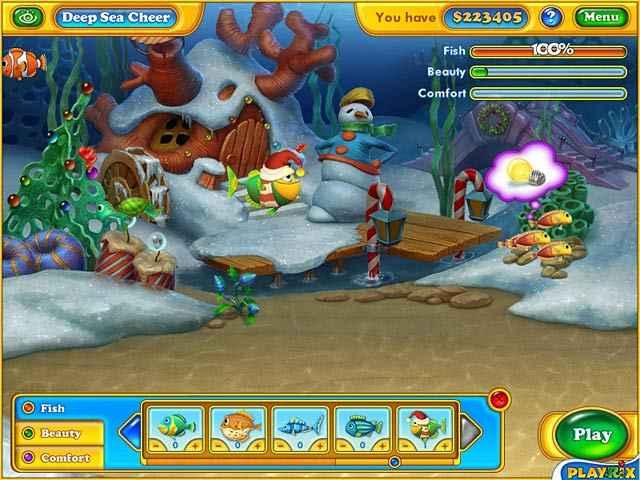 fishdom: frosty splash screenshots 2