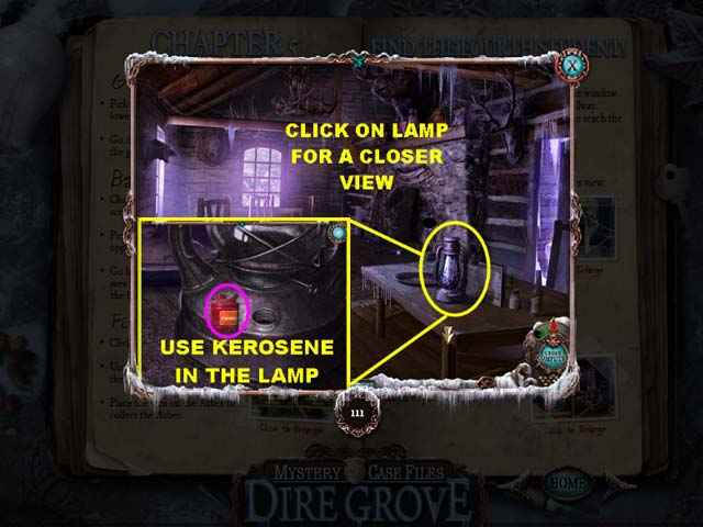 mystery case files: dire grove strategy guide screenshots 2