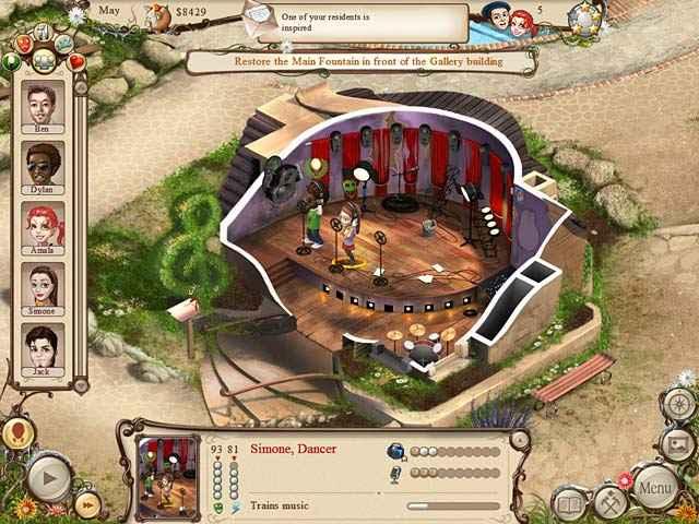 artist colony screenshots 1