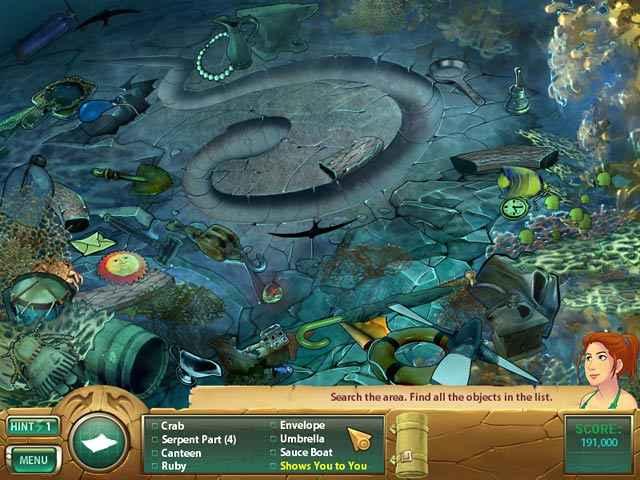 samantha swift: mystery from atlantis screenshots 3