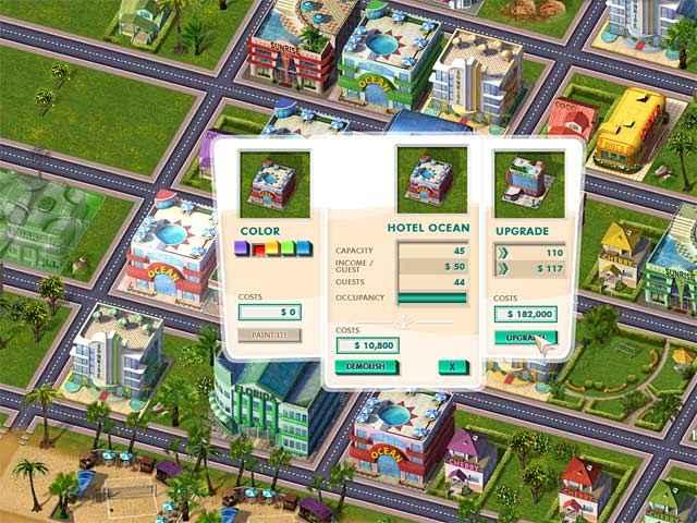 build it! miami beach resort screenshots 3