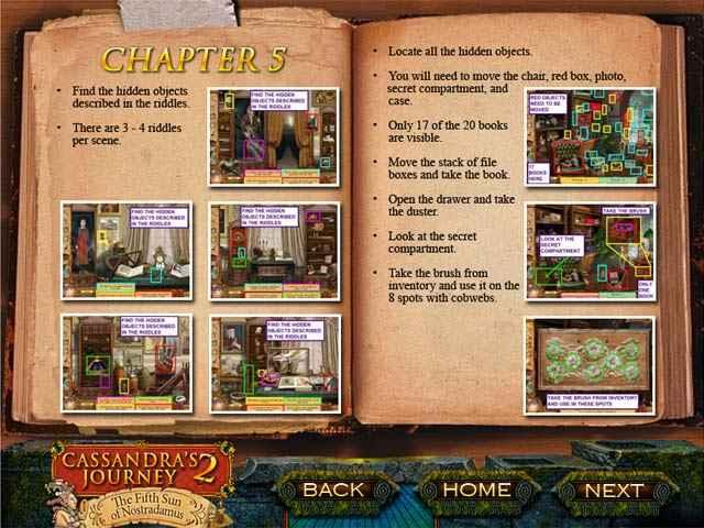 cassandra's journey 2: the fifth sun of nostradamus strategy guide screenshots 1