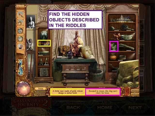 cassandra's journey 2: the fifth sun of nostradamus strategy guide screenshots 2