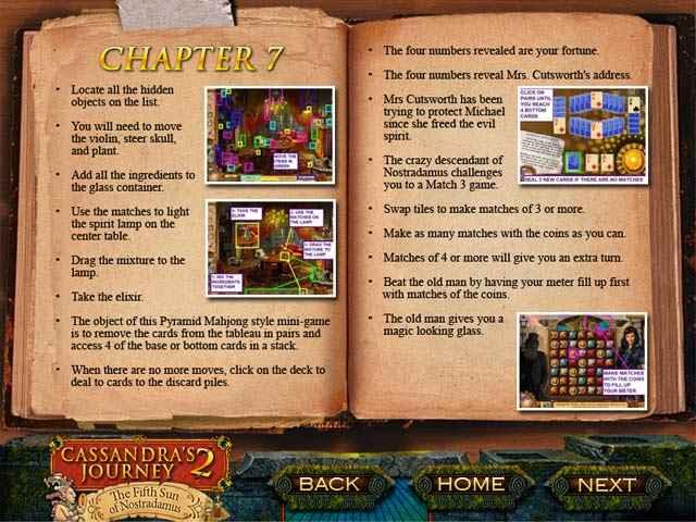 cassandra's journey 2: the fifth sun of nostradamus strategy guide screenshots 3
