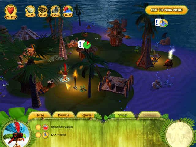 shaman odyssey: tropic adventure screenshots 2