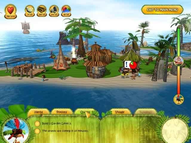 shaman odyssey: tropic adventure screenshots 3