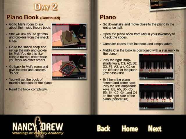 nancy drew: warnings at waverly academy strategy guide screenshots 2