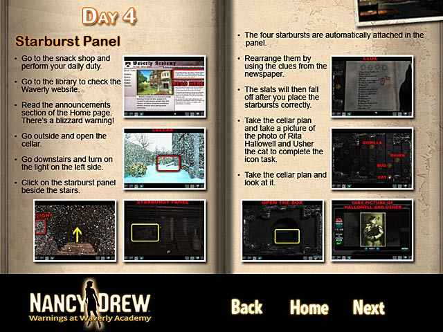 nancy drew: warnings at waverly academy strategy guide screenshots 3