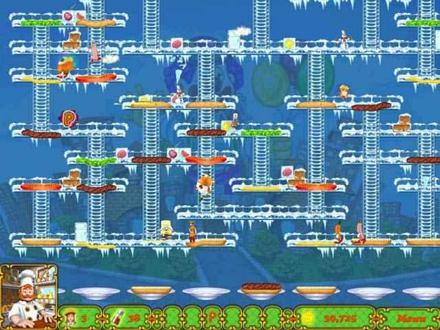 burgertime deluxe screenshots 3