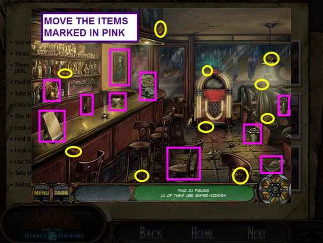 nick chase and the deadly diamond strategy guide screenshots 2