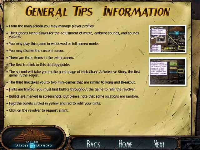 nick chase and the deadly diamond strategy guide screenshots 3