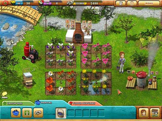fiona finch and the finest flowers screenshots 1
